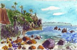 Las Piedras Beach, California