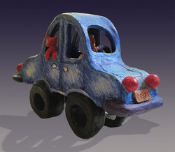 Funky Blues Car