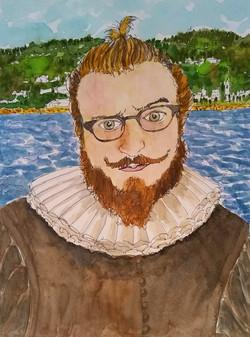 Izak as a Dutch Nobleman