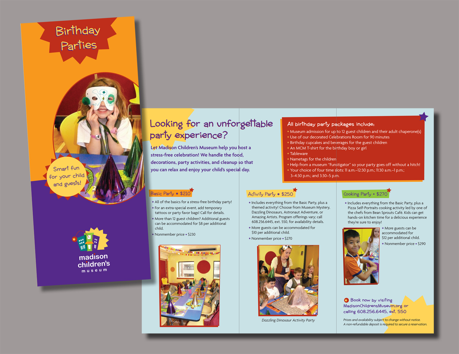 Madison Children's Museum Brochure