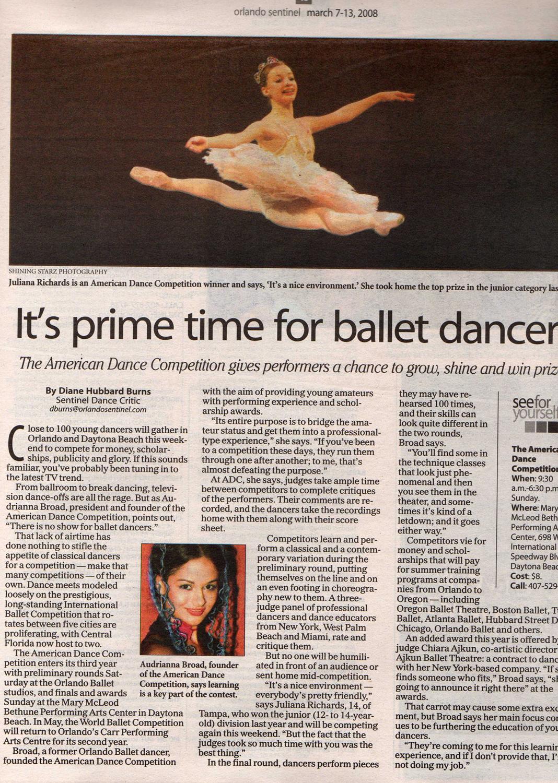 Orlando Sentinel, March 2008