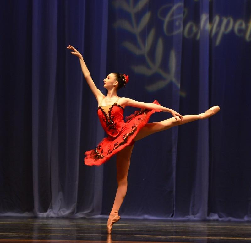 Emily Hall, Senior Women's Gold Medalist, Classical Ballet Division