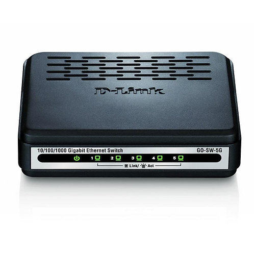 Switch DLINK - 5 (ports) - 10/100 - 10/100/1000
