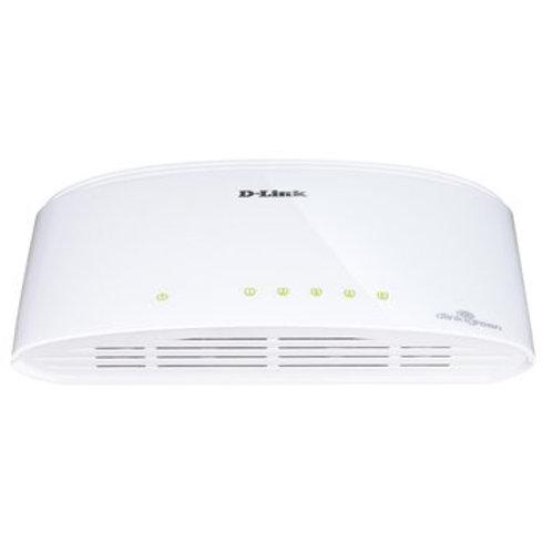 Switch D-Link 5 Ports 10/100/1000Mbps DGS-1005D