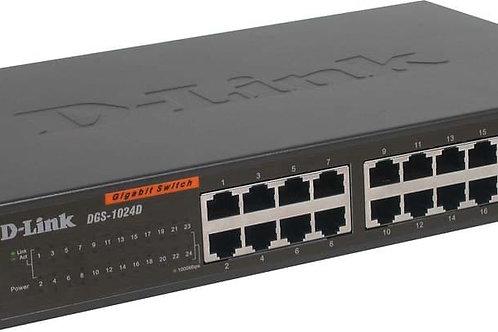 Switch D-Link 24 ports 10/100/1000Mbps DGS-1024D