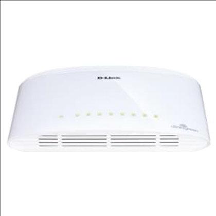 Switch D-Link 8 Ports 10/100/1000Mbps DGS-1008D