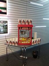 Аппарат попкорна в аренду