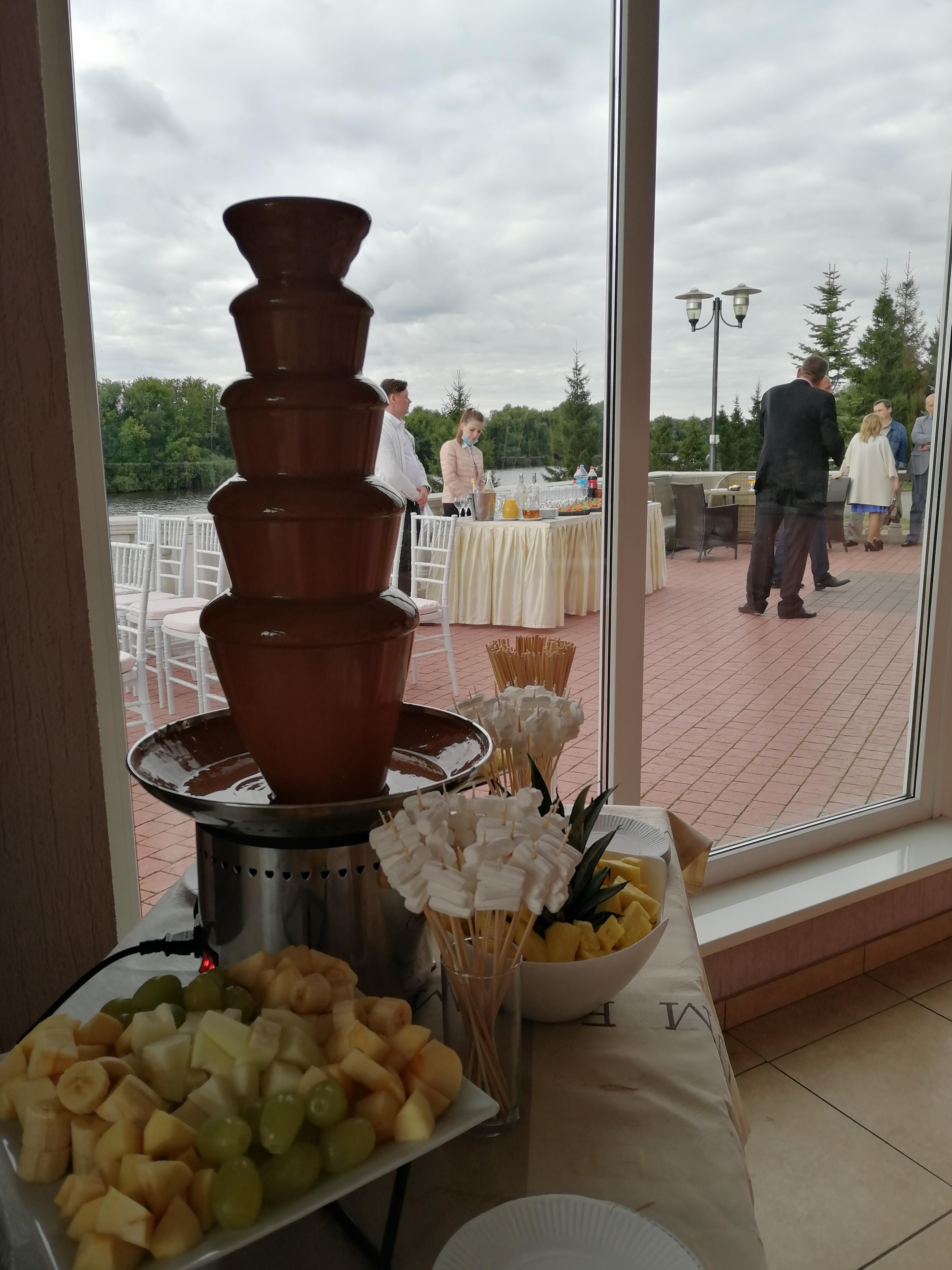 Заказать шоколадный фонтан