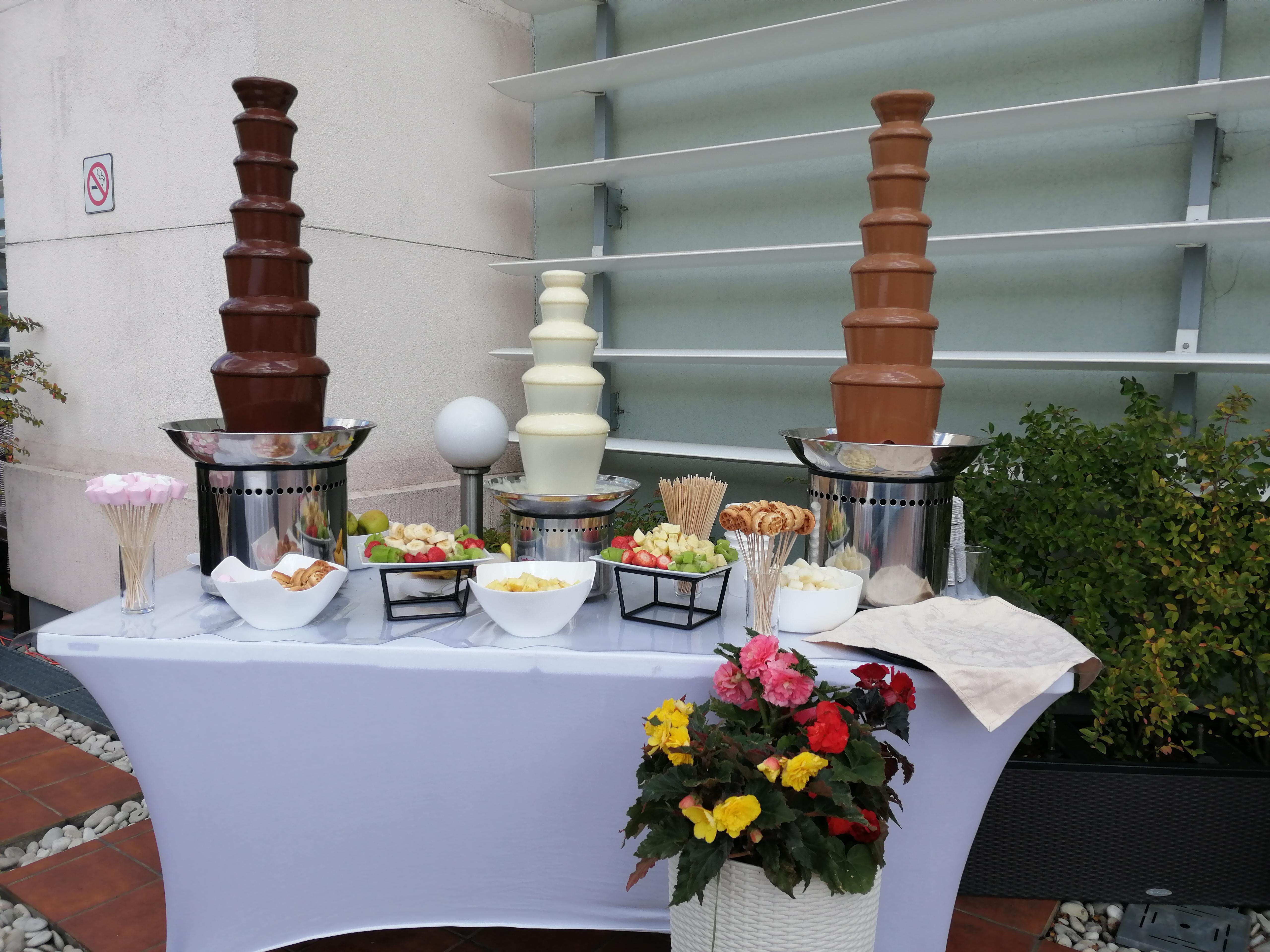 Шоколадный фонтан заказать