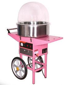Аппарат на телеге для сладкой ваты