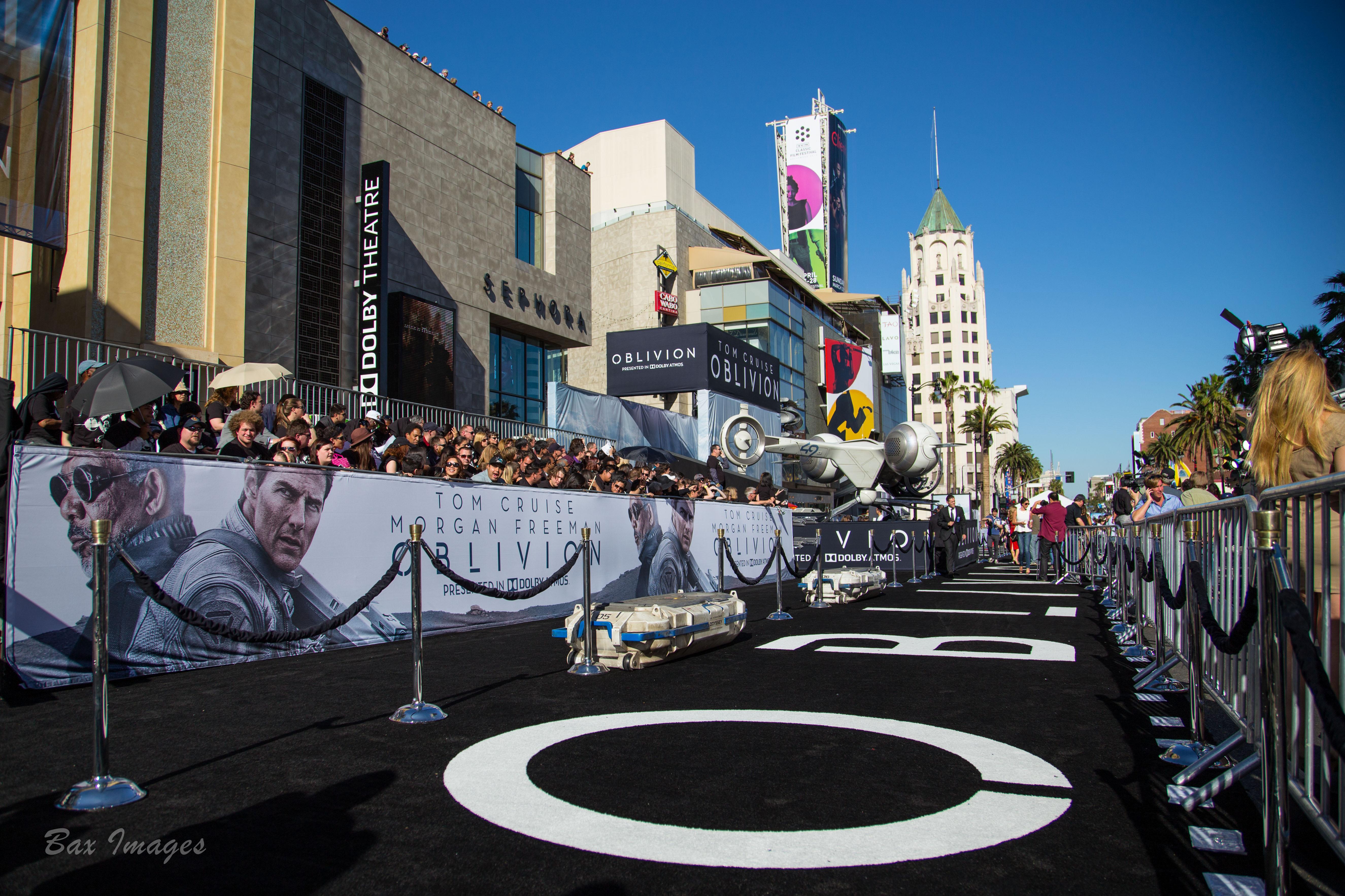 Oblivion Movie Premier