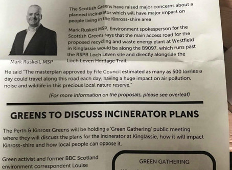 Plans for Incinerator