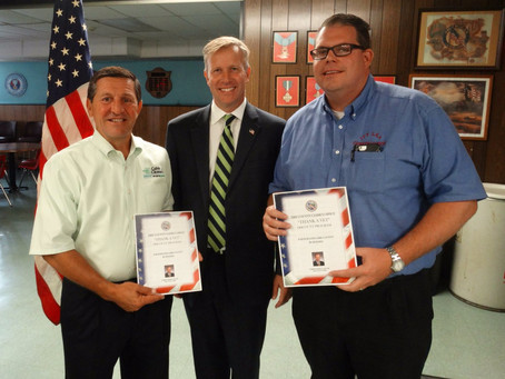 Colvin Cleaners Recognized for #ThankAVet Program