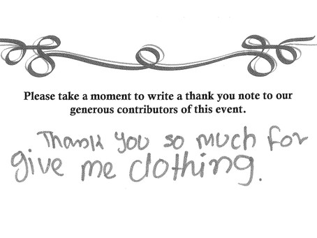 Thank You from Coats for Kids 2014