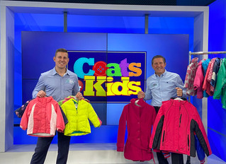 Coats 4 Kids LIVE DRIVE 2020 | Clean Out Your Closets to Donate Coats!