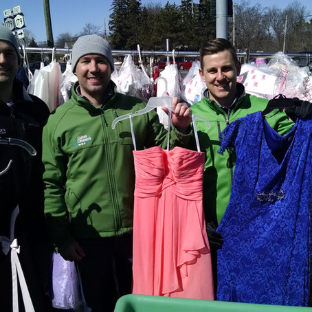 """Reeds Jenss to Host """"GOWN DRIVE"""" on Saturday for Colvin Cleaners' """"Gowns For Prom"""" Program"""