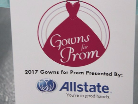 Colvin Cleaners Along with Allstate Begin the 12th Annual Gowns for Prom Season