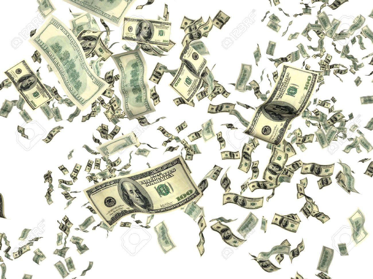 5910530-Money-on-white-background-Stock-Photo-money-falling-flying