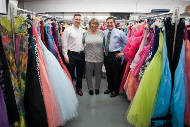 COLVIN CLEANERS Gowns for Prom BEGINS 15th CAMPAIGN