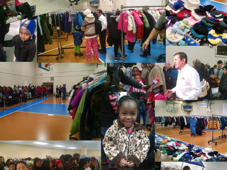 COLVIN CLEANERS 23RD ANNUAL COATS 4 KIDS CAMPAIGN DISTRIBUTES RECORD 15,200 COATS