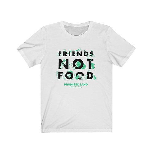 Unisex Short-Sleeve Tee – Friends Not Food