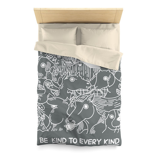 Microfibre Duvet Cover – Be Kind to Every Kind