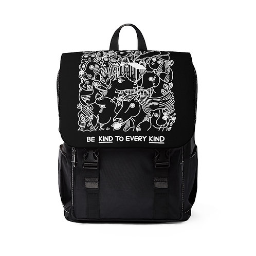 Unisex Backpack – Be Kind to Every Kind