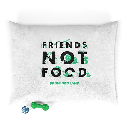 Pet Bed – Friends Not Food