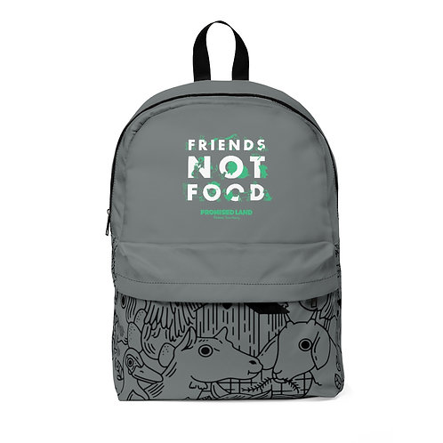 Classic Backpack – Friends Not Food