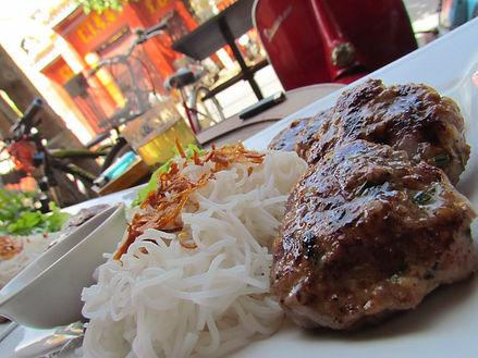 Coast Vietnam Hoi An's best restaurants, bun cha at the Little Menu