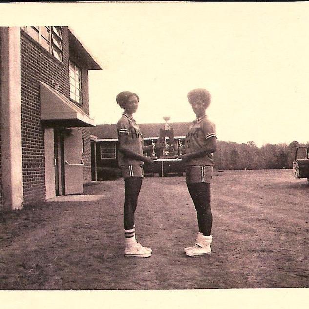 Gladiators 1976 Gail and Anna First Seni