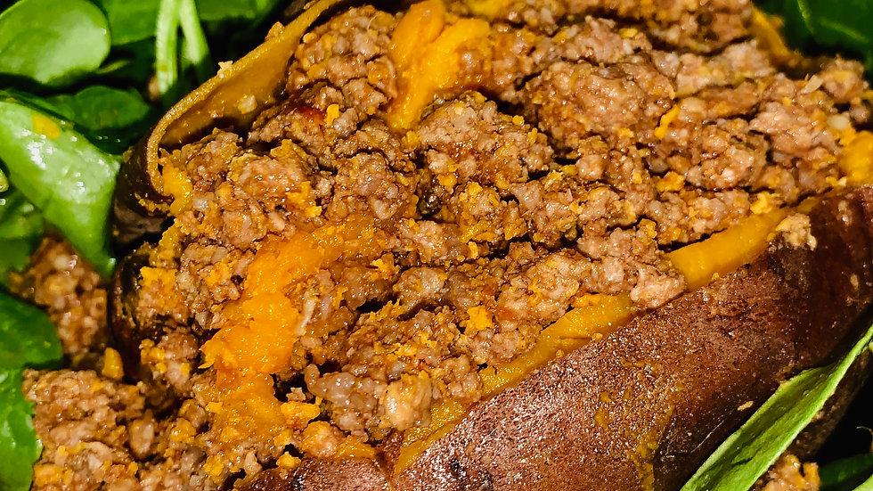 Sweet Potato Sloppy Joe