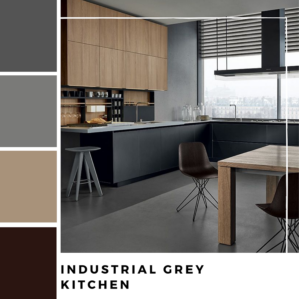 Industrial Grey Kitchen
