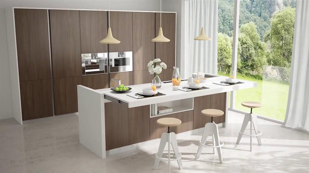 Industrial Grey Kitchen