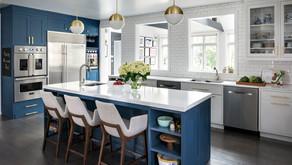5 Beautiful Blue Kitchen Ideas - Colour Schemes & Combinations