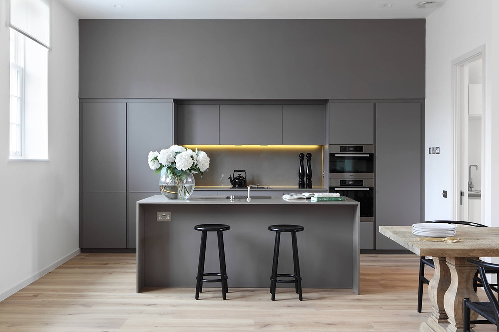 Grey Kitchen Ideas - Color Schemes & Combinations