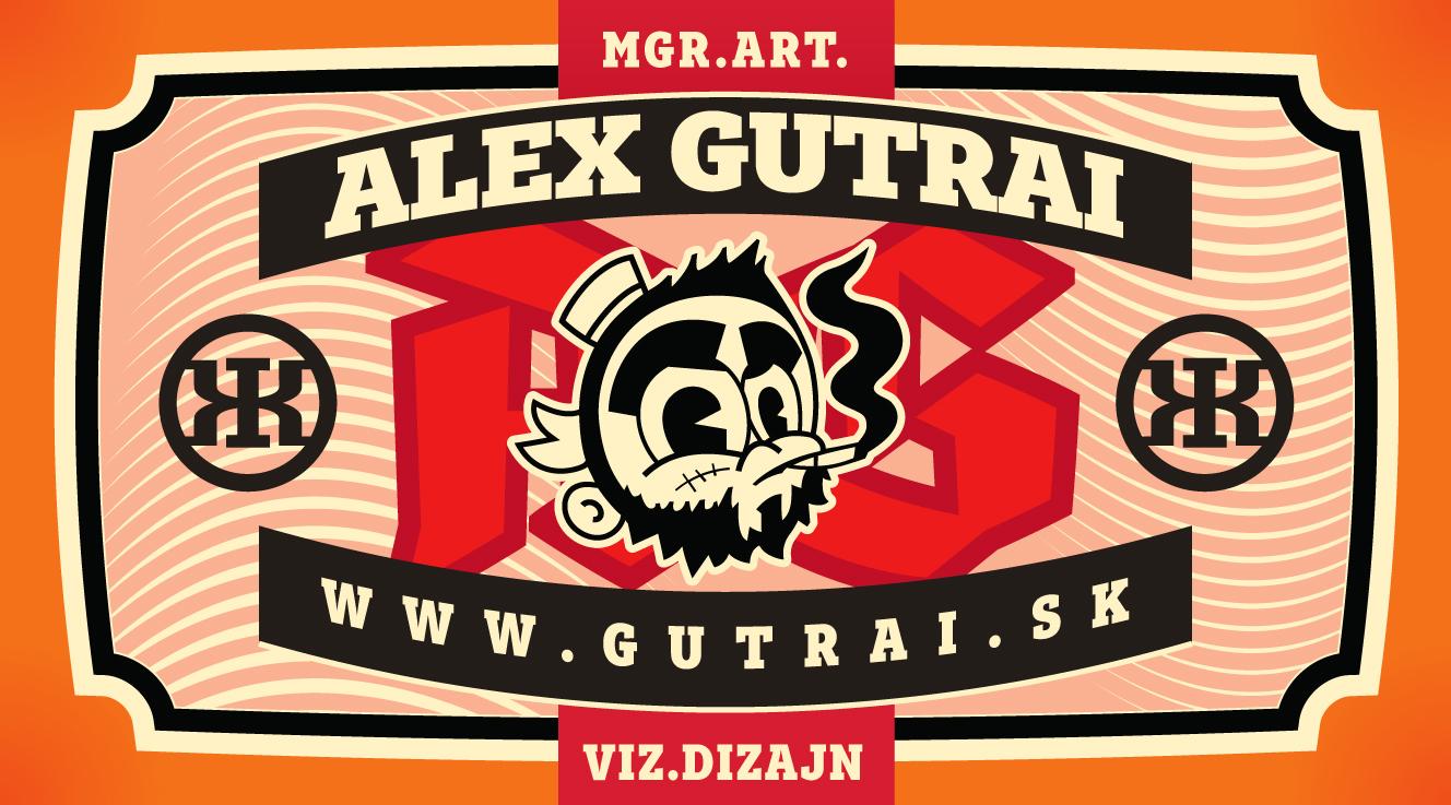 Gutrai - business card