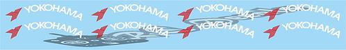 1/8 Yokohama Tire logo