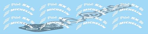 1/10 Ford Michelin Pilot wheel logo