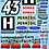 Thumbnail: 1/10 Decal Rally Set Ford Escort Cosworth - Ken Block's 2018 Livery