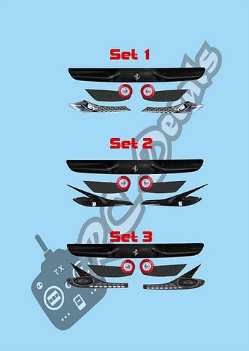 GT12 F-Type Lights Light Sets