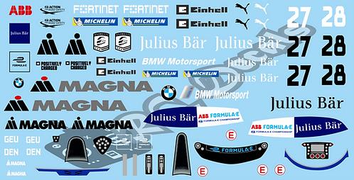 Formula -E BMW i Andretti Motorsport BMW iFE.21