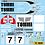 Thumbnail: 1/10 Decal Rally Set Mitsubishi Lancer Evo VII 2001