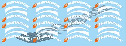 1/14 Truck Hankook  Tyre Decals