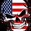 Thumbnail: Name Stickers with Skulls & Bandana International Flags