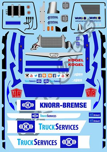 1/14 Hahn Racing Truck