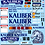 Thumbnail: 1/10 Touring Car Decal Sticker Set BTCC Ford Sierra Kaliber 1989