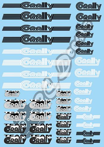 Vintage Corally Logo