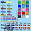 Thumbnail: Name Stickers with International Flags
