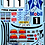 Thumbnail: 1/10 Decal Rally Set Ford Escort Cosworth - Tiger Stripe